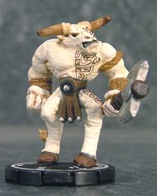 Harloon Minotaur - Obviously, the Mage Knight Minotaur stripped of his armor.