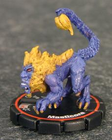 Masticore - Mage Knight Manticore for the body with a troll or two for the face. The tail comes from a lead demon figure.