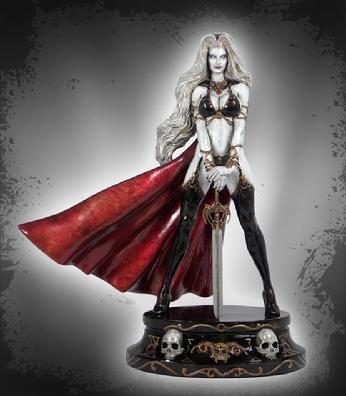 Lady Death - Ornamental Faux Bronze
